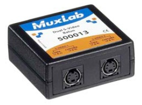 Muxlab Dual S-Video Balun