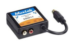 Muxlab S-Video/Audio Balun