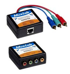 Muxlab Component Video/Digital Audio Balun